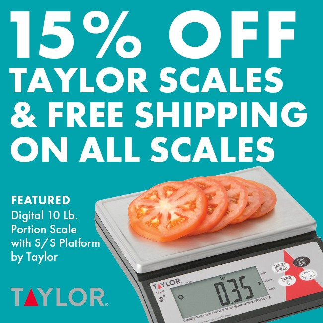 15% Off Taylor Scales