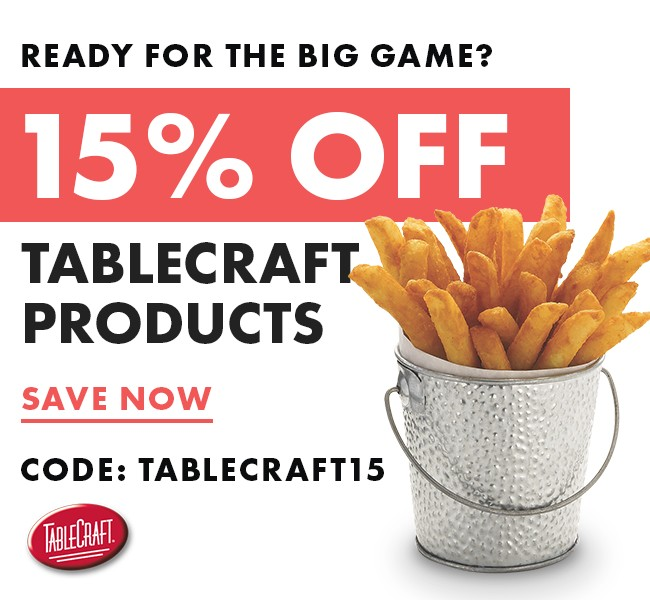 Save 15% On TableCraft