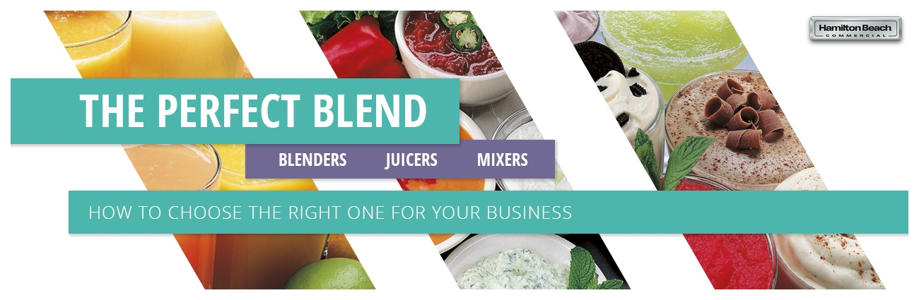 Commercial Blenders & Juicers Buying Guide