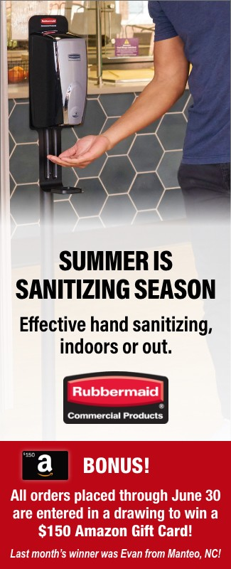 Rubbermaid Sanitizers