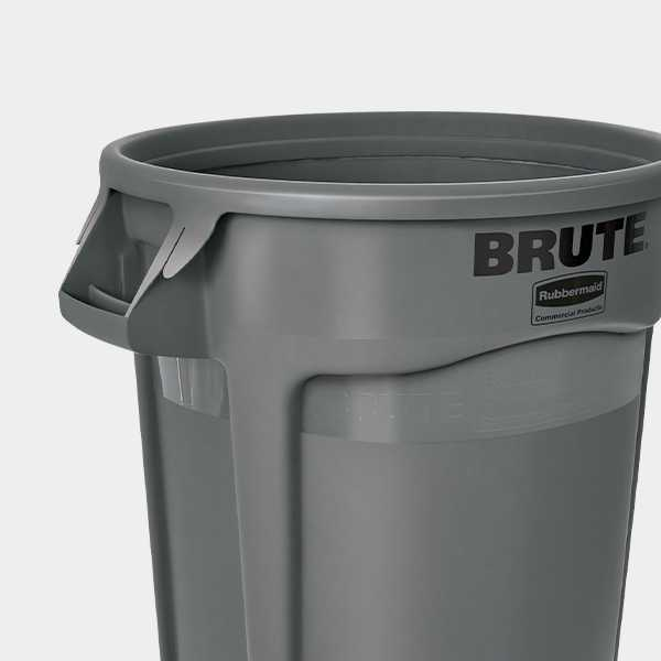 Free Ground Shipping On Rubbermaid Brute