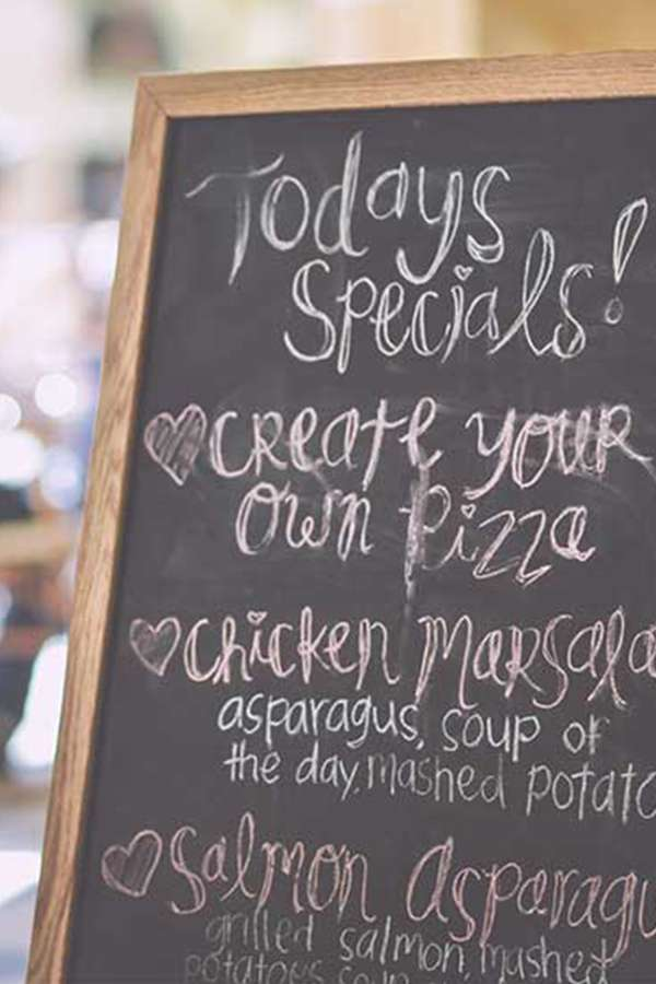 Menu Fonts: Handwriting Might Be A Secret Weapon