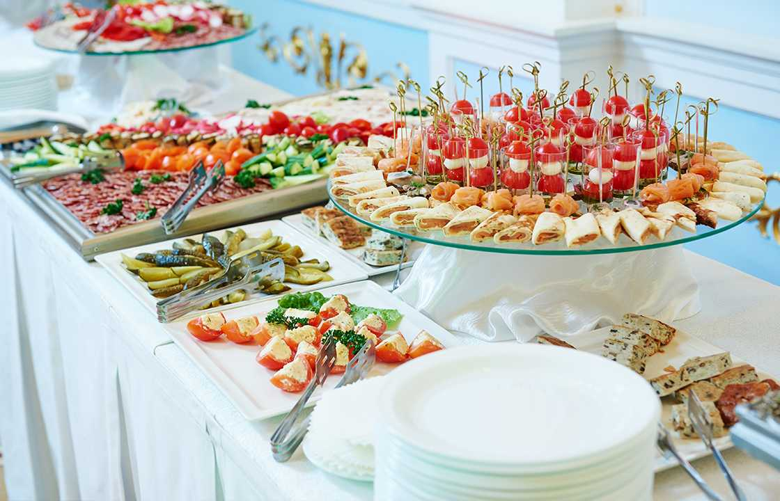 Inspiration: Affordable Disposable Catering