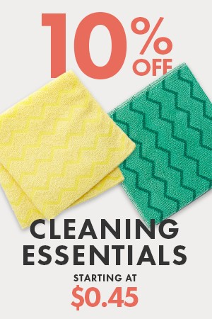 10% Off Cleaning Supplies