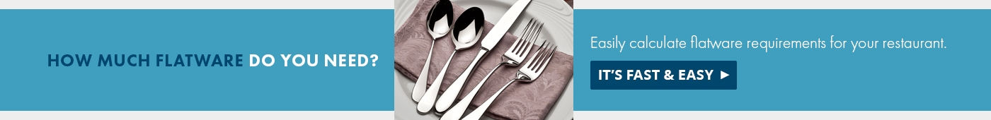 How Much Flatware Do You Need?
