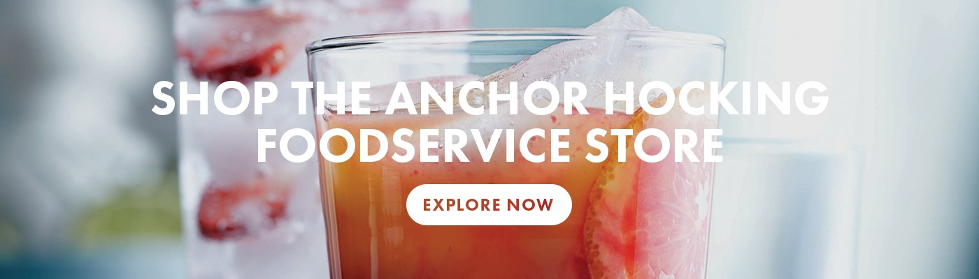 Shop the Anchor Hocking Store at Wasserstrom