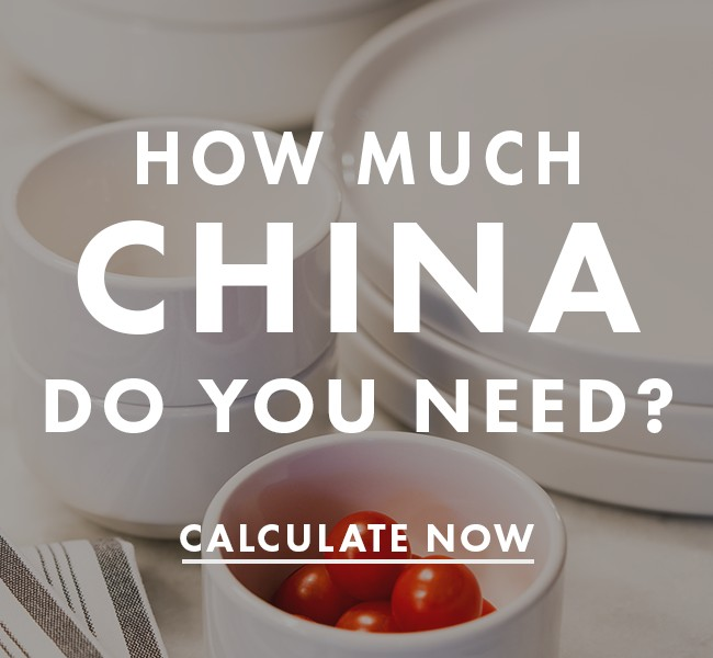 How Much China You Need For Your Restaurant