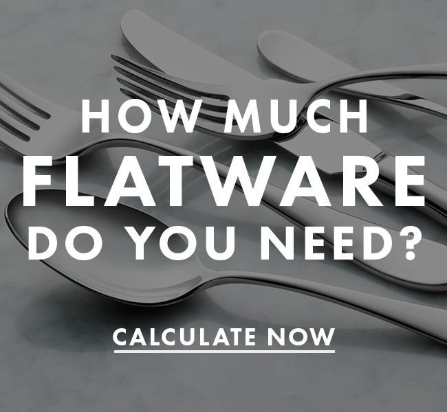 How Much Flatware You Need For Your Restaurant
