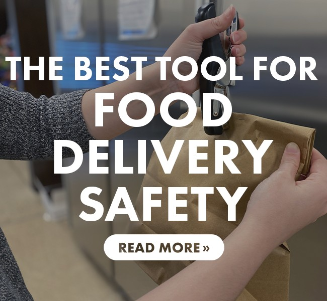 The Best Tool for Food Delivery Safety