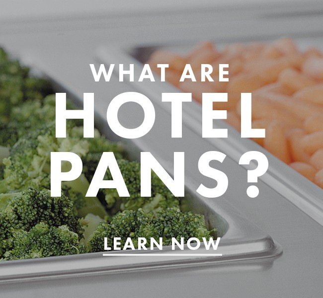 What Are Hotel Pans?