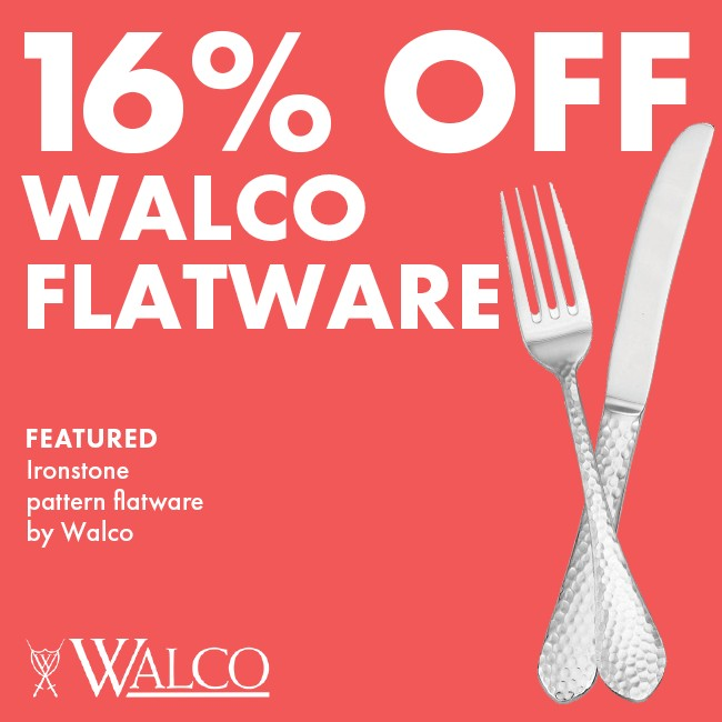 Save 16% On Walco Flatware