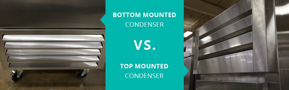 Bottom Mount Condenser vs Top Mounted Condenser