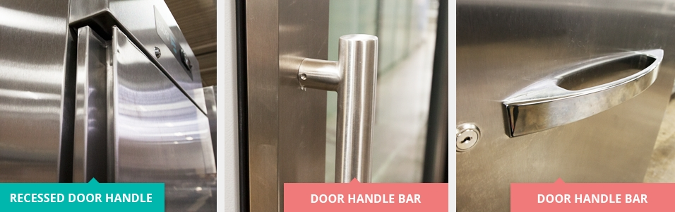 Recessed Door Handles vs Bars