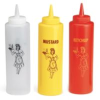 Condiment Squeeze Dispensers